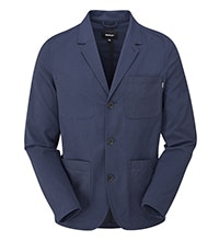 Lightweight jacket, great for work or travel .