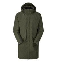 Longer length waterproof jacket.