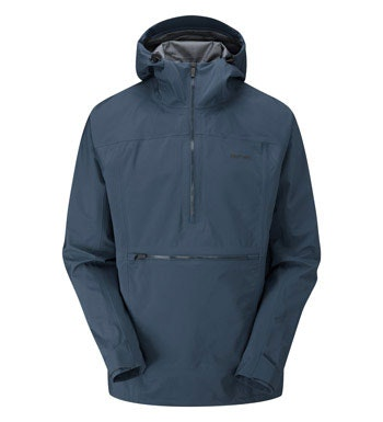 Waterproof, heritage style hooded jacket.