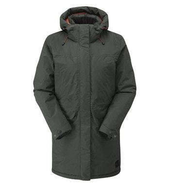 Waterproof, insulated winter coat.