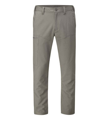 Tough and durable trouser with stretch panels for active outdoor use.