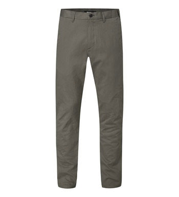 Technical travel chinos.