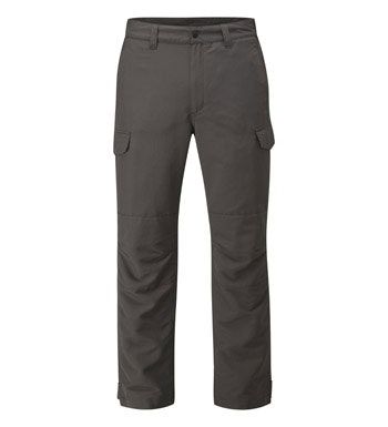 Tough walking trousers with a waterproof liner.