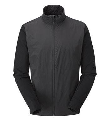Insulated stretch jacket.