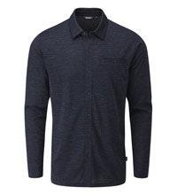 Versatile merino blend travel shirt.