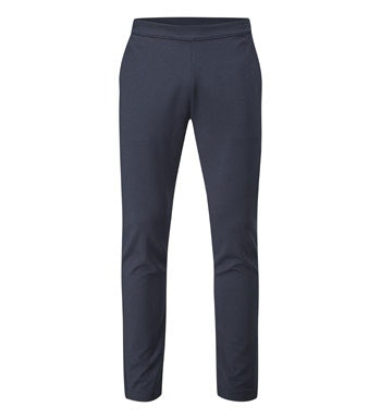 Relaxed, functional pull-on trousers for travel and everyday.