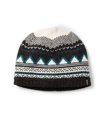 Technical fairisle patterned hat.