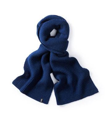 Soft, technical scarf.