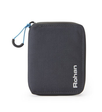 Compact wallet with RFiD protection.