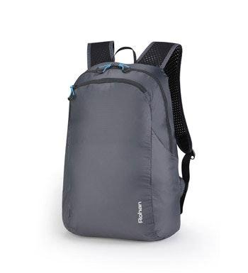 Packable lightweight backpack.