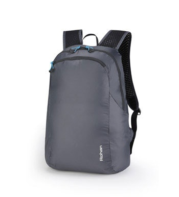Packable lightweight backpack.
