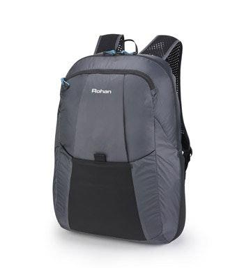 Packable lightweight daysack.
