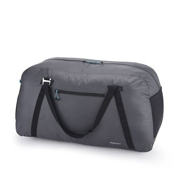 Packable duffle bag.