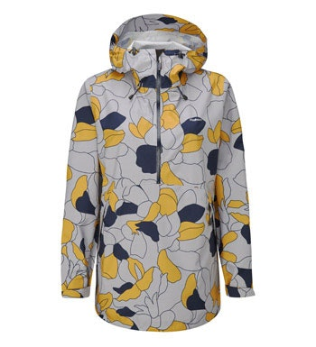Stylish waterproof jacket with hood.