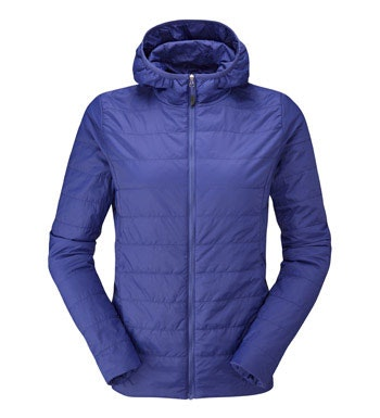 Lightweight insulated jacket.