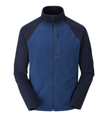 Lightweight, versatile insulating fleece jacket.