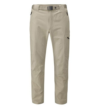 Durable, insect repellent, stretch trekking trousers.