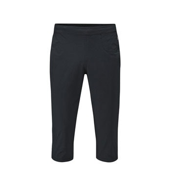 Technical, high-stretch, active capris.
