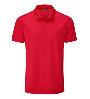 Moisture-wicking, anti-bacterial performance polo.