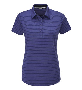 High-wicking polo for active and everyday wear.