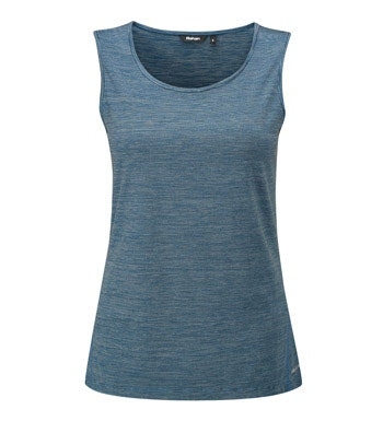 Technical vest for active outdoor wear.