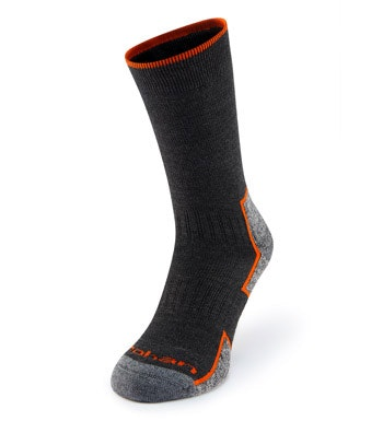 Warm, quick-drying, supportive walking socks.