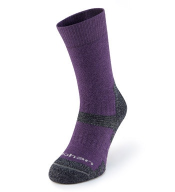 Cold-weather, extremely supportive trekking socks.