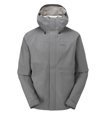 A lightweight men's waterproof jacket that's big on breathability.