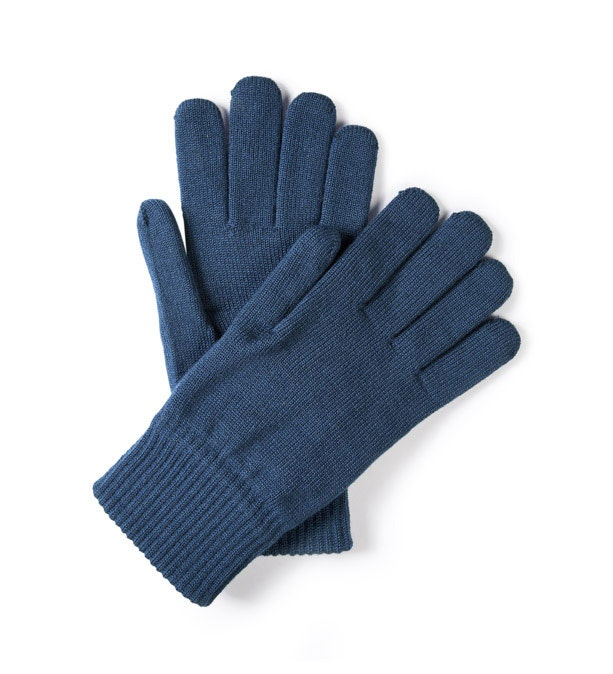 Unisex merino-blend gloves for active outdoor use.