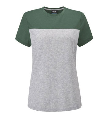 Classic styling on a technical base layer T-shirt.