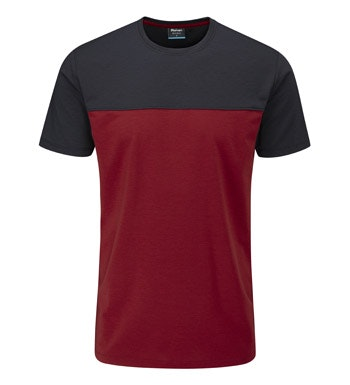 Tough, technical Dryknit™ jersey T.