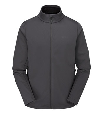 Brushed back, windproof mid layer fleece.