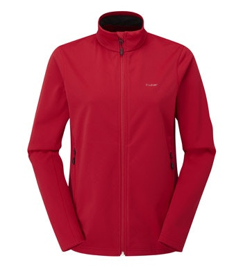 Brushed back, windproof mid layer fleece.